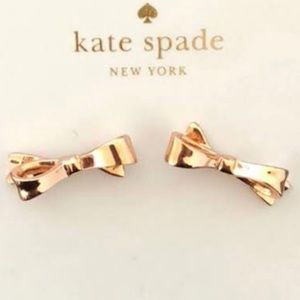 Kate Spade Gold Bow Earrings